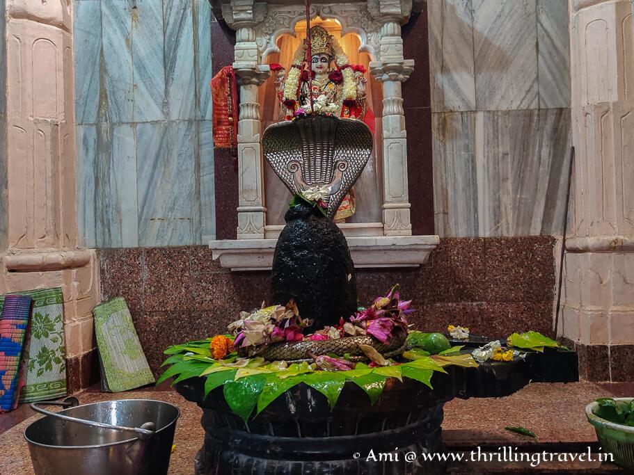Nageshwar Mahadev temple in Saputara