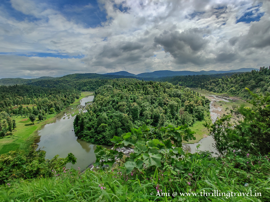 One of the Saputara sightseeing places - U Turn Viewpoint