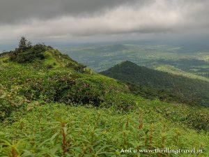 The monsoon greens of Saputara hill station