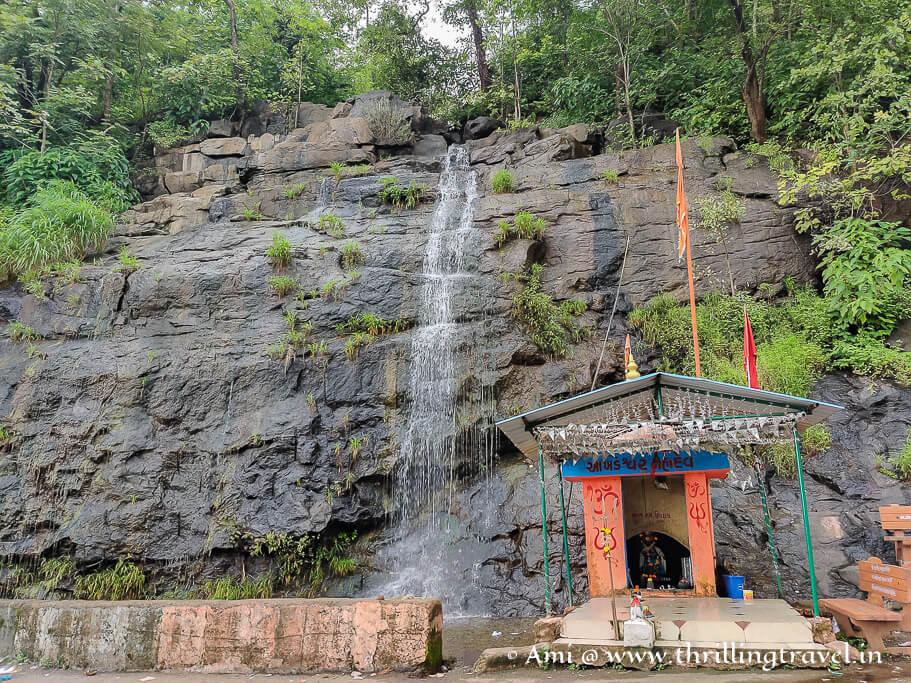 Shiv Ghat waterfalls in Saputara