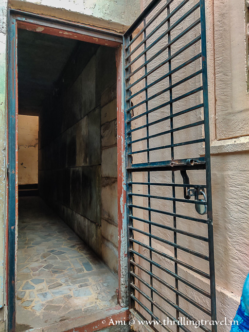 Secret passage between the pols in Ahmedabad