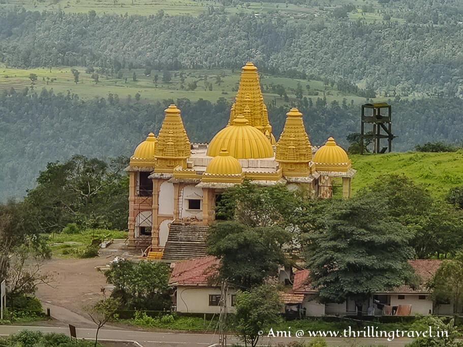 The Swaminarayan temple in Saputara