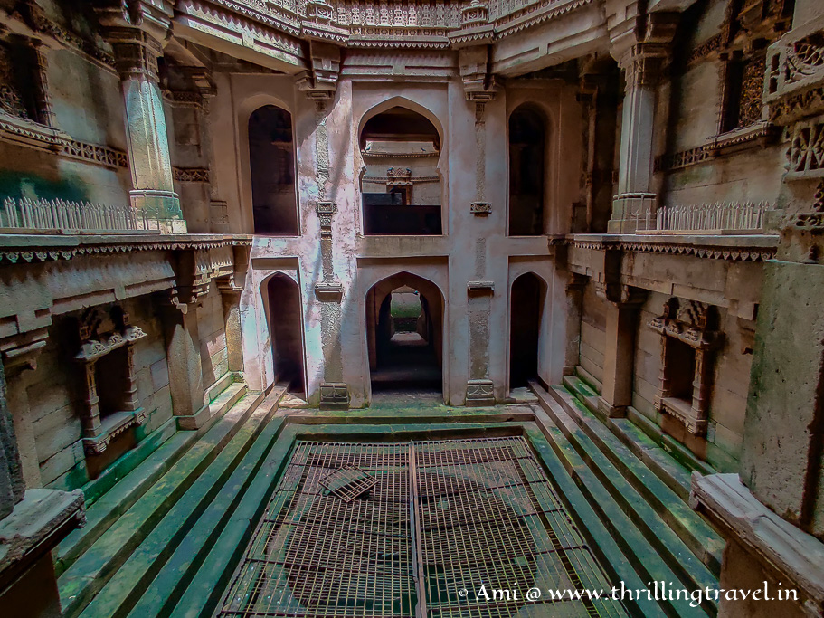 The main well of Adalaj and the 2nd one behind it