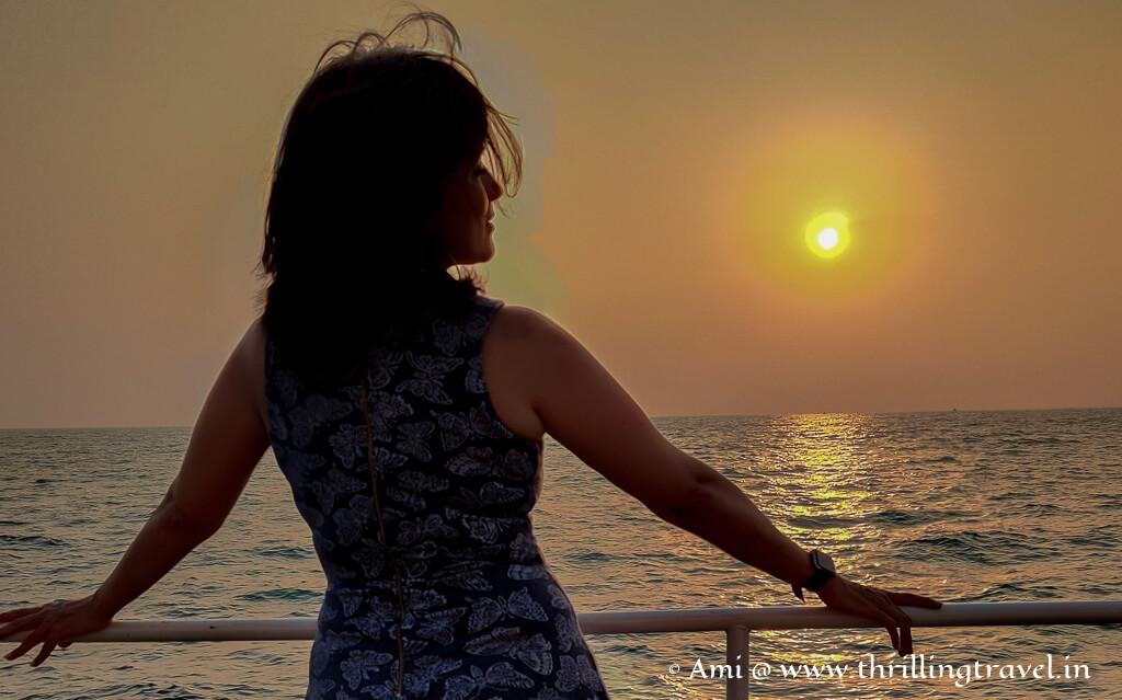 Sunset cruise Gokarna - a sensorial experience