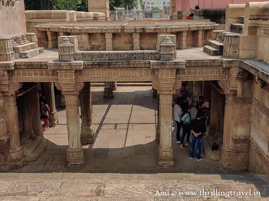The western entrance to Ahmedabad's Adalaj ki Vav