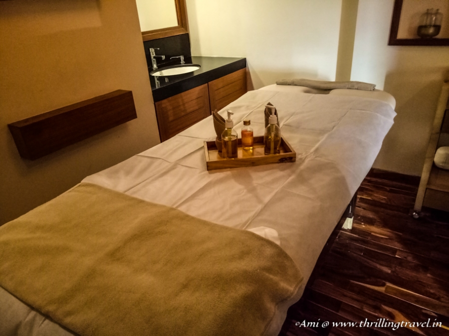 The Relaxing spa at Club Mahindra Resort Kanha