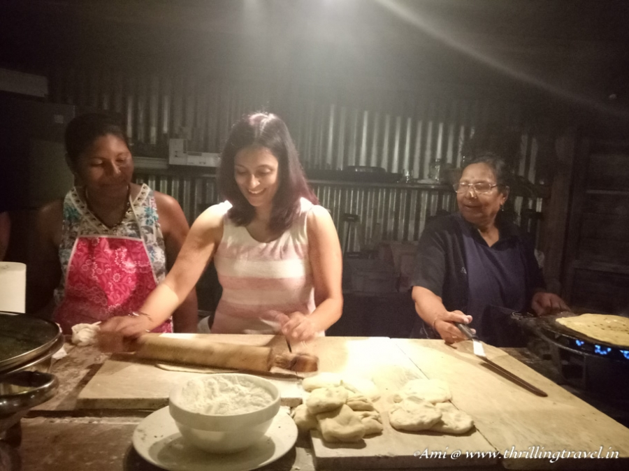 Making Paranthas at Le Kaze Mama with the Grand Mama of Mauritius - Hotel Shanti Maurice