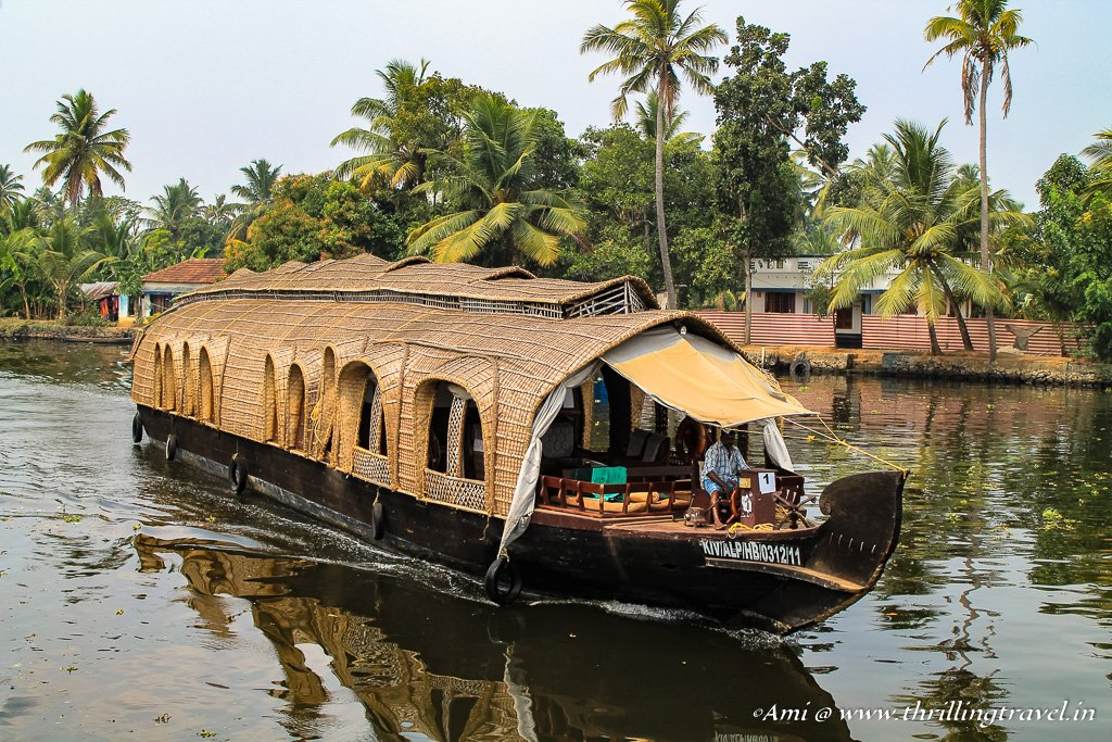 Houseboats along the Backwaters of Kerala